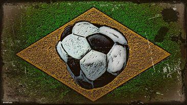 brasil bola murcha