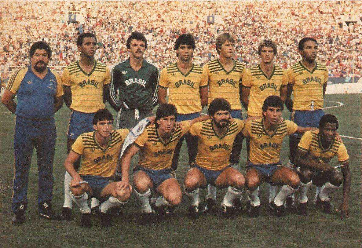SELEÇÃO BRASILEIRA FUTEBOL OLIMPIADAS 1984