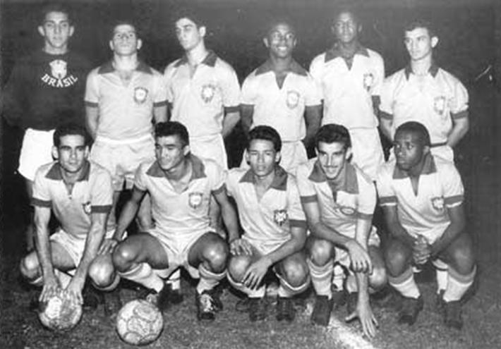 seleção brasileira 1960 olimpiadas