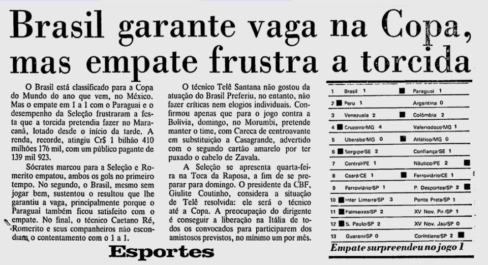 o jogo de um bilhão 2 18 06 1985