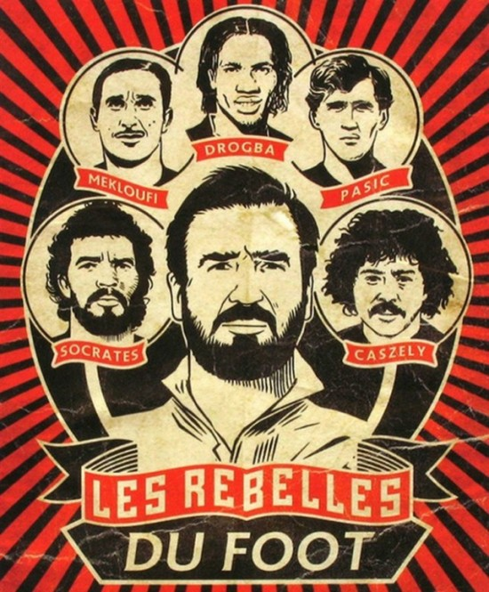 os rebeldes do futebol cartaz
